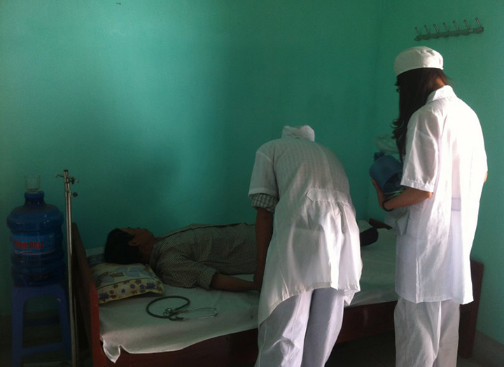 Thủ tục tiếp nhận bệnh nhân